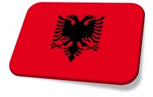 drapeau albanie bis